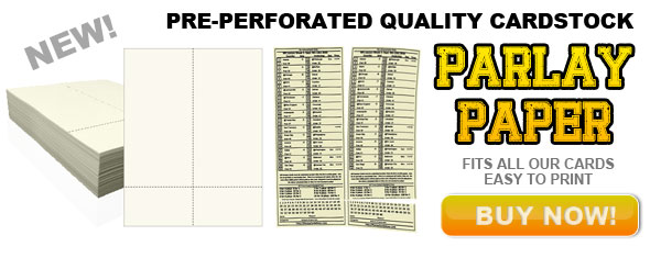 image relating to Printable Football Line Sheets called Printable Custom made Parlay Playing cards - Parlay Playing cards At present